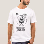 """FICTS """"Bee Stretching"""" Men's T-Shirt"""