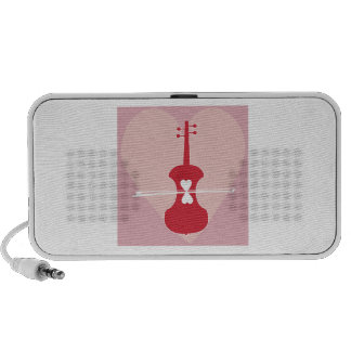 Fiddle And Heart Travelling Speaker