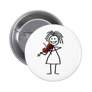 Fiddle Kid Button