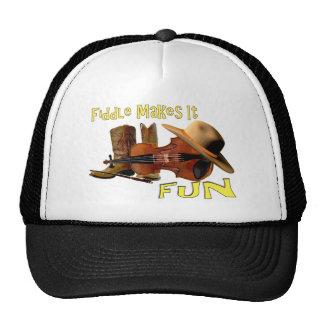 Fiddle Makes It Fun Cap