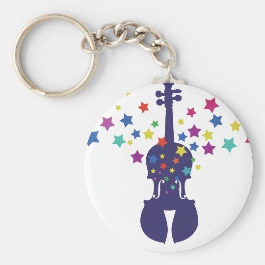 Fiddle Star Kids Key Chain