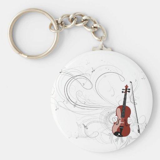 Fiddle Symphony Keychain