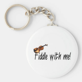 Fiddle with me! key ring