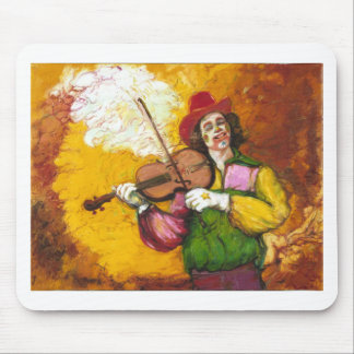 "Fiddler Clown ""Dubie Hummingbyrd"" Mouse Mat"