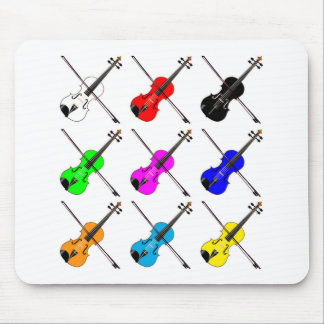 Fiddles Mouse Pad