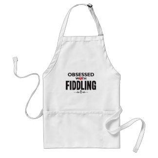 Fiddling Obsessed Aprons