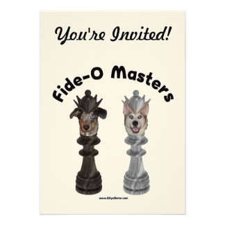 Fide-O Masters Chess Dogs Invites