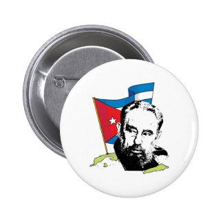 Fidel Castro 6 Cm Round Badge