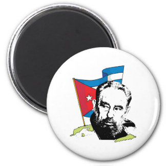 Fidel Castro Magnet