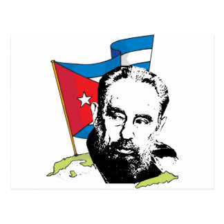 Fidel Castro Postcard