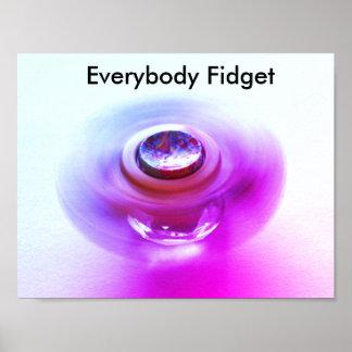 Fidget poster