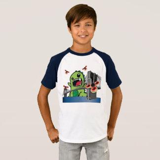 Fidget Spinner Kids' Short Sleeve Raglan T-Shirt