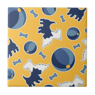 Fido! Small Square Tile