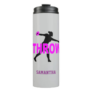 Field and Track Discus Thrower Thermal tumbler
