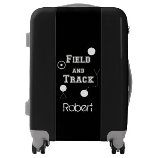Field and Track Thrower personalized luggage