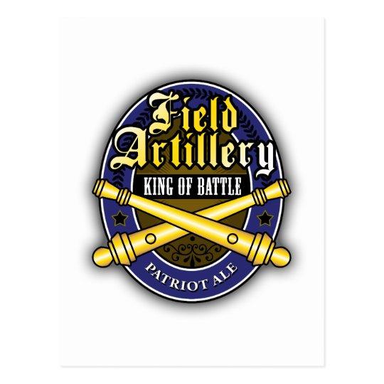 Field Artillery Patriot Ale Postcard