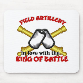 Field Artillery Wife Mouse Pad