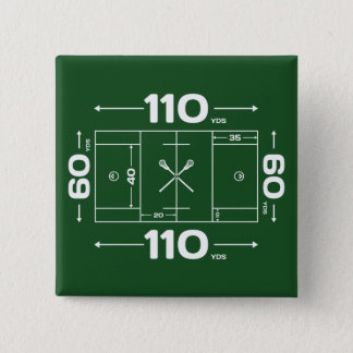 Field Dimensions 15 Cm Square Badge