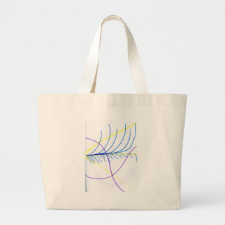 Field Equation Canvas Bags