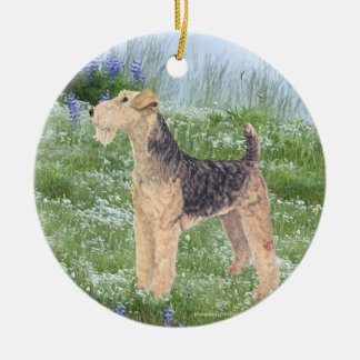 Field Flowers Christmas Ornament