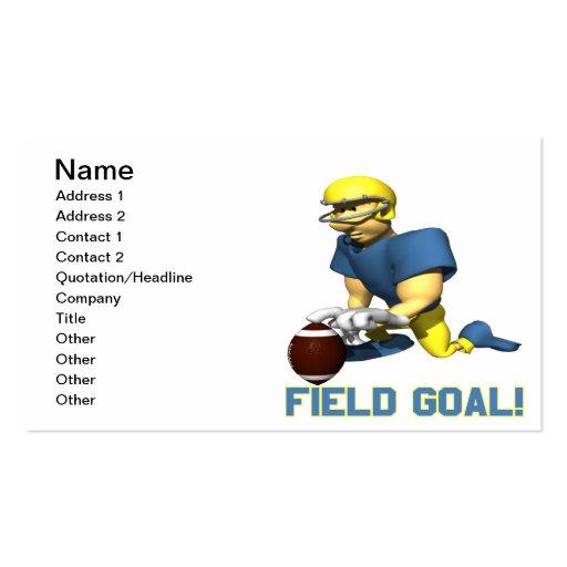 Field Goal Business Card Template