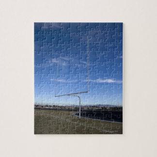 Field goal jigsaw puzzle