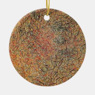 Field Grass Christmas Tree Ornaments