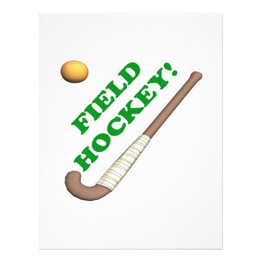 Field Hockey 2 Full Color Flyer