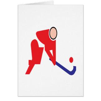 Field Hockey 5 Greeting Card