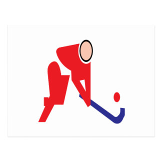 Field Hockey 5 Postcard