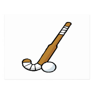 Field Hockey 6 Postcard