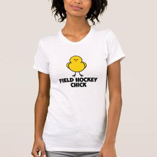 Field Hockey Chick T Shirts