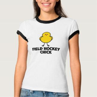 Field Hockey Chick Tee Shirts
