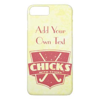 Field Hockey Chicks With Sticks iPhone Case