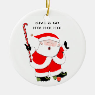 Field Hockey Christmas Collectible Christmas Ornament