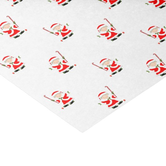 field hockey Christmas Tissue Paper