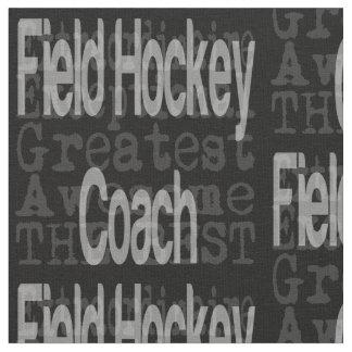 Field Hockey Coach Extraordinaire Fabric