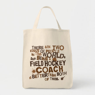 Field Hockey Coach Gift Tote Bag