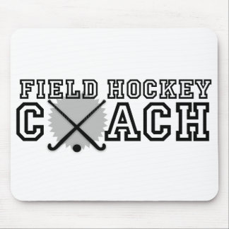 Field Hockey Coach Mouse Mat