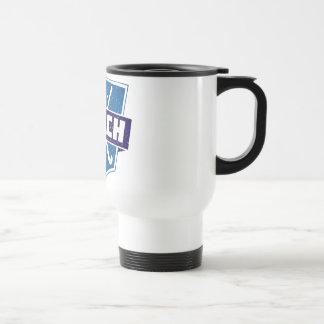 Field Hockey Coach Shield Coffee Mug