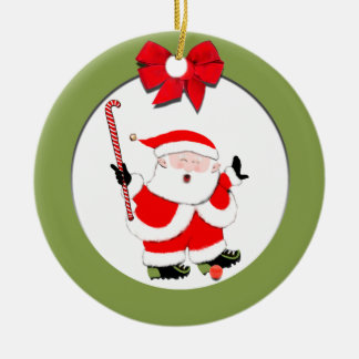 Field Hockey Collectible Christmas Ornament