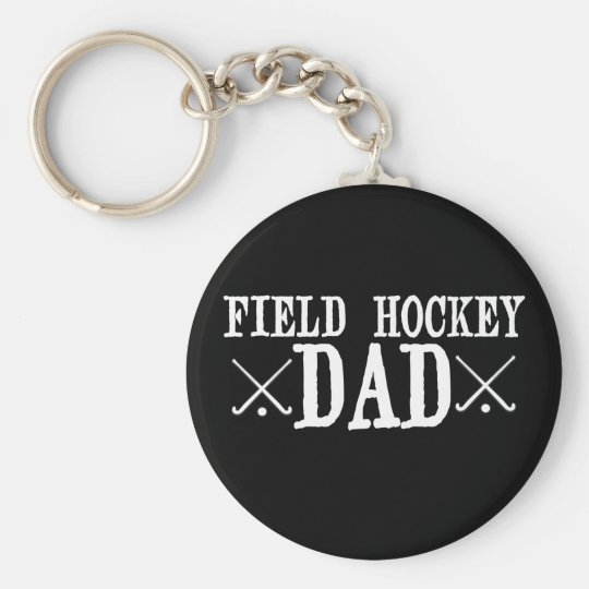 Field Hockey Dad Key Ring