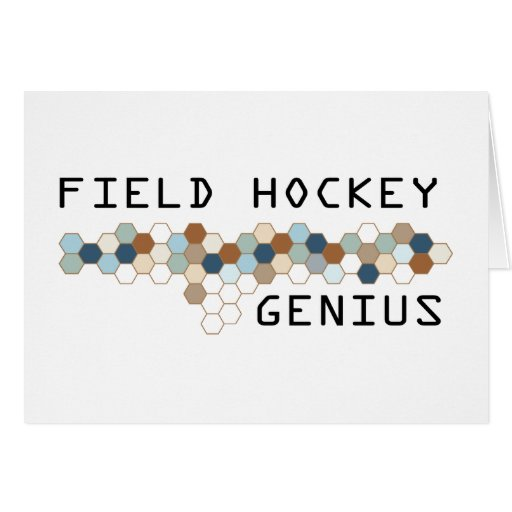Field Hockey Genius Cards