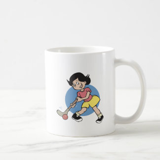 Field Hockey Girl Player Coffee Mug