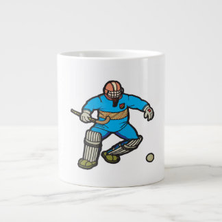 Field Hockey Goalie Large Coffee Mug