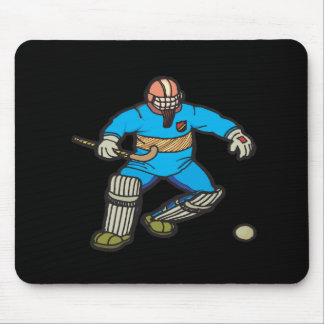Field Hockey Goalie Mouse Mat