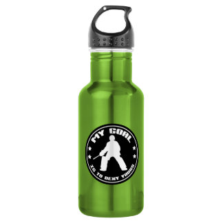 Field Hockey Goalie 'My Goal' 532 Ml Water Bottle