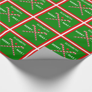 Field Hockey Holidays Wrapping Paper
