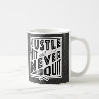 Field Hockey Hustle, Hit And Never Quit Mug