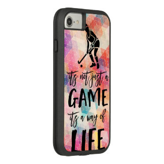 Field Hockey Its Not Just A Game Quote Sports Case-Mate Tough Extreme iPhone 8/7 Case